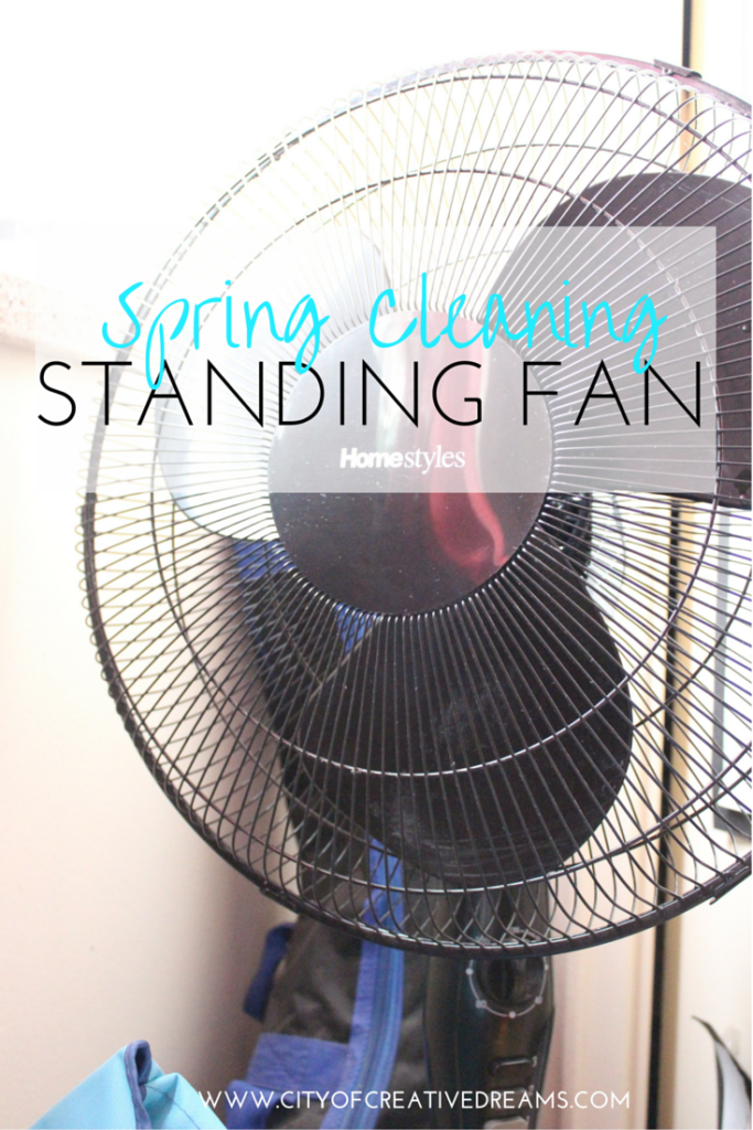 Spring Cleaning - Standing Fan | City of Creative Dreams