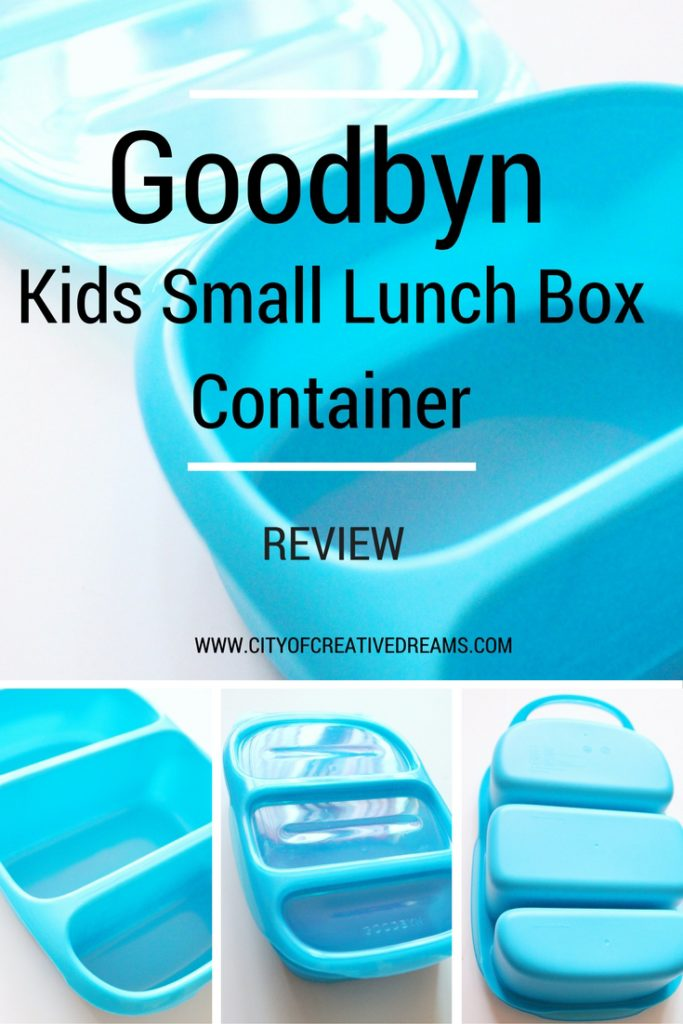 Goodbyn Kids Small Lunch Box Container Review | City of Creative Dreams